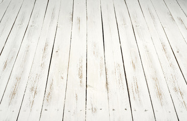 white wooden sltas floor