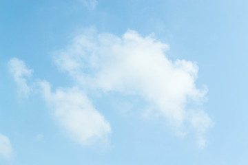 Cloud clear sky for background