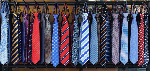 Ties for sale in Seoul