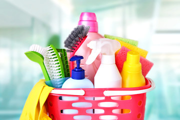 Domestic sanitary supplies.Household items.