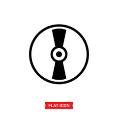 Compact disc vector icon , CD symbol