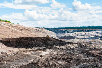 Coal Mining industry used the mining machinery equipment extracting coal ores from the ground. Open-pit mine or surface mining extract coal to used for heavy industrial in Thermal Power Plant