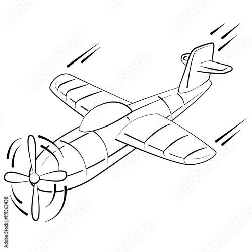 Gratis Kleurplaten Planes.Vliegtuig Kleurplaat Stock Image And Royalty Free Vector Files On