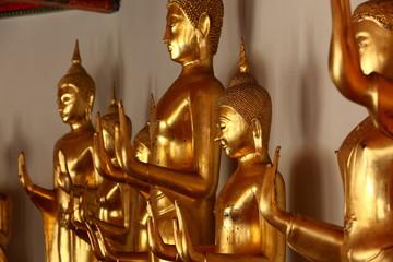 Golden budhas