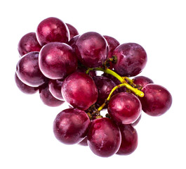 Large red sweet grapes