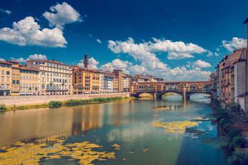 Ponto Vecchio bridge in Florence
