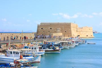 Fort Heraklion in Krete