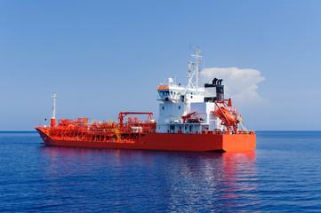Tanker zur Trinkwasserversorgung der Äolischen Inseln