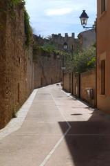 Alcudia, pueblo al norte de Mallorca,Islas Baleares (España)