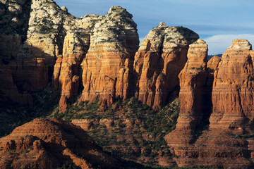 Sandstone Rock Formations Near Sedona