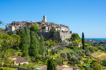 Wall Mural - View of Saint-Paul-de-Vence