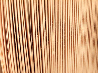 close up texture of book pages side view