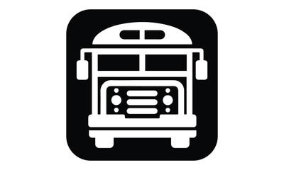 Bus Icon Logo