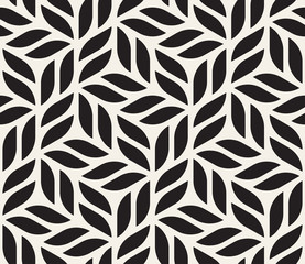 Vector seamless pattern. Modern stylish abstract texture. Repeating geometric shapes from striped elements