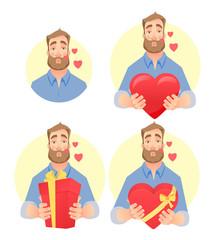 man in love - set