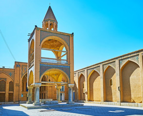 Bell tower of Vank Cathedral, Isfahan, Iran