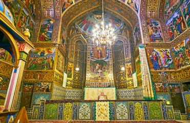 The main part of Vank Cathedral, Isfahan, Iran
