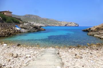 Cala Sant Vicenç - Pollença en Mallorca, Islas Baleares (España)