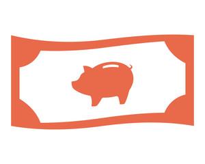 savings money image vector icon