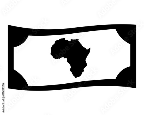 Africa Money Image Vector Icon Stock Image And Royalty Free Vector