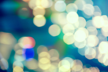 colorful blurring the pattern of light is beautiful bokeh background