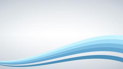 Abstract vector background, blue waved lines for brochure, website, flyer design. illustration.