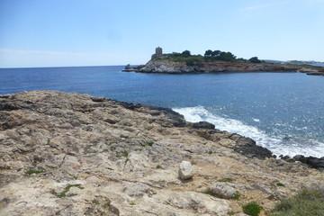 Cas Català illetes, localidad turística perteneciente al municipio de Calviá en la isla de Mallorca,Islas Baleares (España)