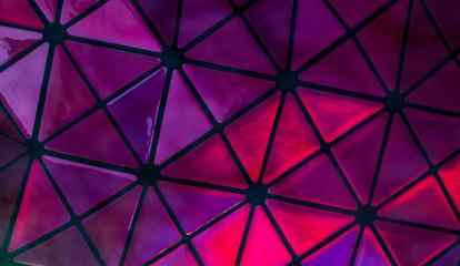 Violettes Mosaik