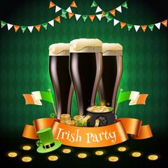 Saint Patricks Irish Party Composition