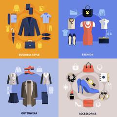 Clothes Flat Concept