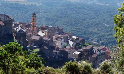 Village de Cervione en haute Corse