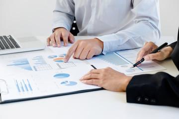 Business team analysis data document