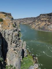 Beautiful Shoshone Falls waterfalls in USA