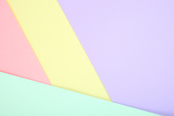 pastel colored paper