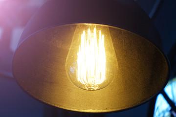 Poster UFO Black decorative lamp.Modern
