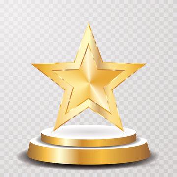 gold star podium