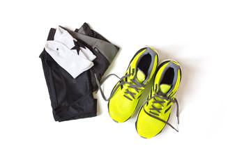 Laufausrüstung für Marathonläufer.