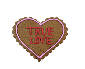 Gingerbread cookie for my true love