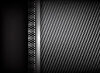 Abstract background dark and black carbon fiber 002
