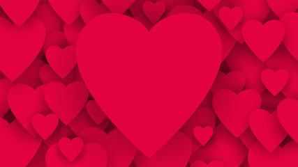 serca tło wektor
