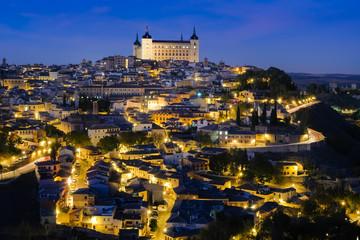 スペイン トレド 夜景
