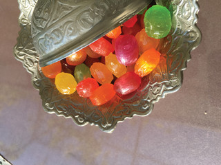 feast candy isolate