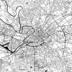 Manchester Downtown Vector Map