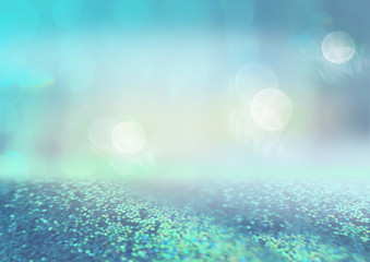 Defocused empty space with nice bokeh effect and glittering background