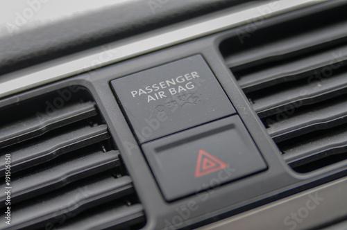 details auto interieur blinkerhebel sos taste