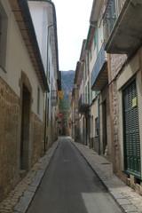 Soller,pueblo de Mallorca,Islas Baleares (España)