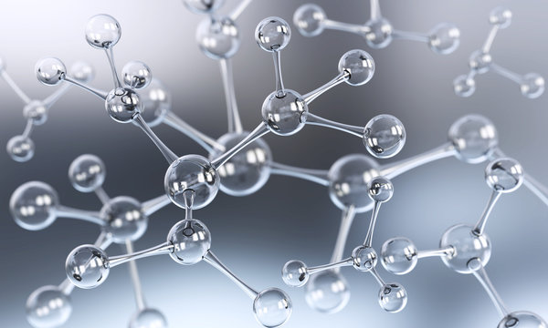 Abstract atom or molecule structure