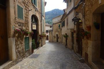 Valldemossa,pueblo con encanto en Mallorca,Islas Baleares (España)