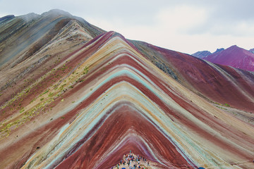 Poster Vinicunca Rainbow Mountain