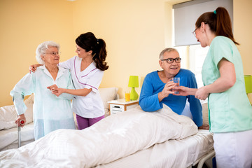 Professional care at nursing home